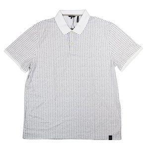 DKNY Men's Short Sleeve Polo Style Tee Shirt XL